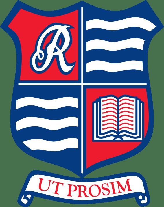 Riverston Clear Logo Blue Background