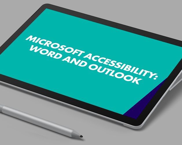 Microsoft Accessibility Thumbnail   Word and Outlook