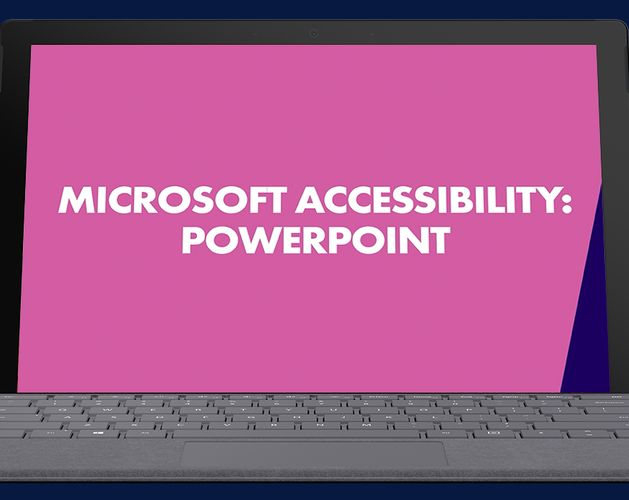 Microsoft Accessibility Thumbnail   PowerPoint