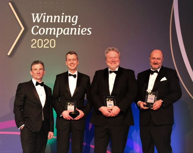 HEADER Quoted25   ICT Services peer group winners