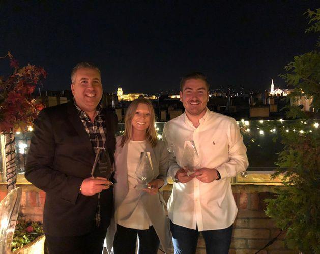 Arcserve EMEA partner of the year award