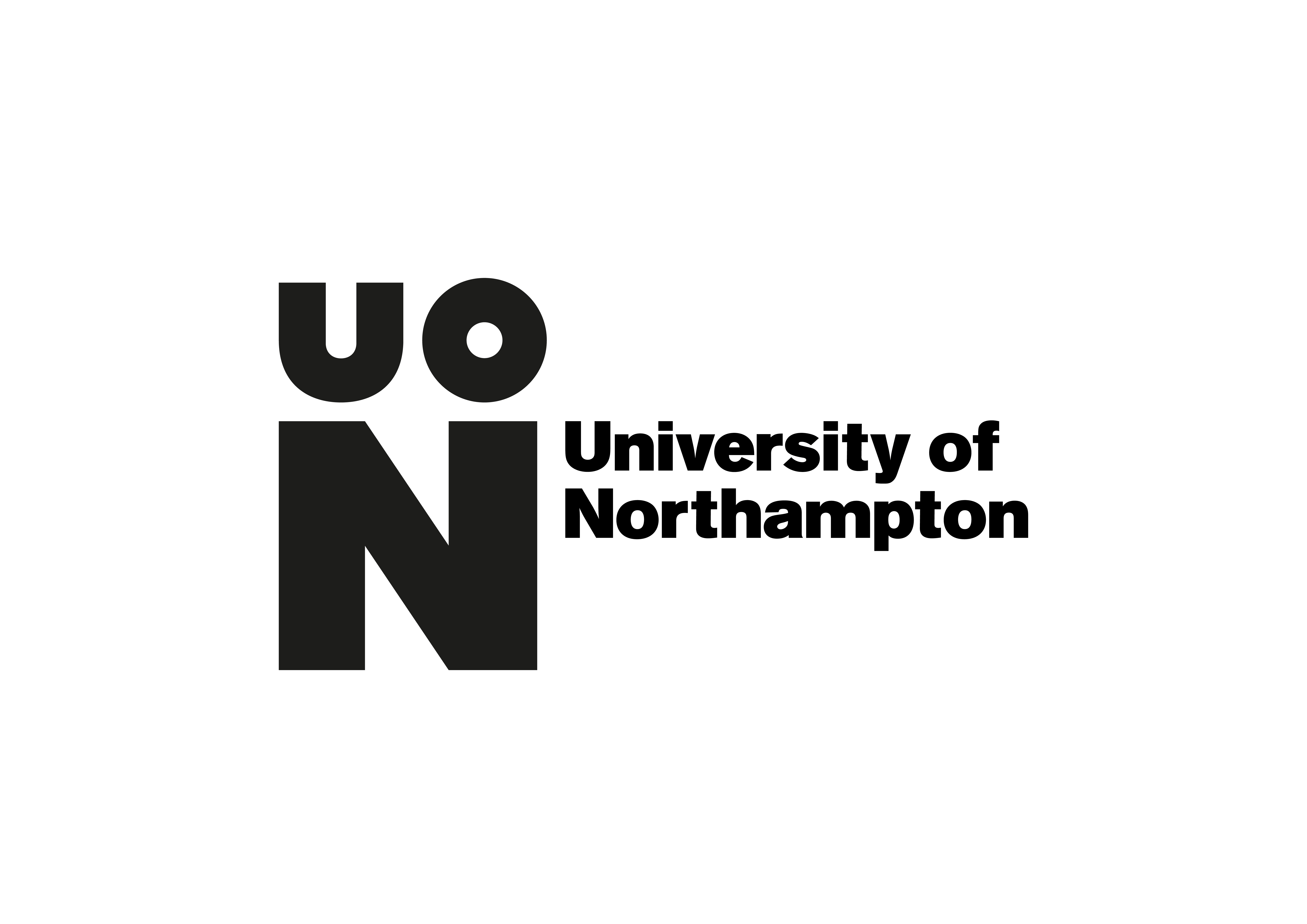 UoN Icon + logotype horizontal Black